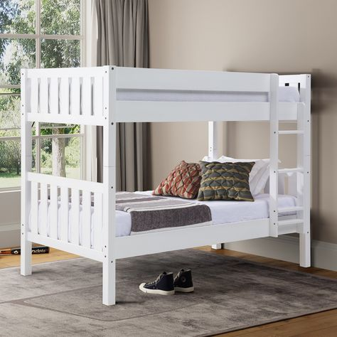 Letto A Castello Twins.Manor Park Cottage Slat Twin Over Twin Bunk Bed Nel 2019 Products