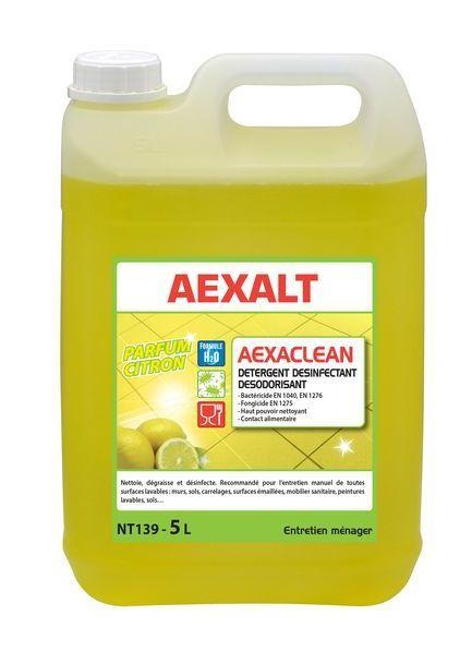 Aexalt Aexaclean Desinfectant Parfum Citron 5 L Nt139