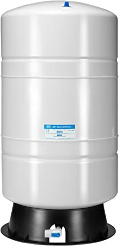 New Ispring T20m 20 Gallon Pre Pressurized Water Storage Tank Reverse Osmosis Ro Systems 14 Gallons Water Storage Capacity Online In 2020 Water Storage Tanks Water Storage Storage