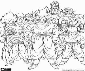 Juegos De Dragon Ball Gt Para Colorear Dragon Coloring Page Super Coloring Pages Cartoon Coloring Pages