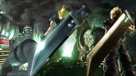 《最終幻想7 重製版》原版主視覺圖重製