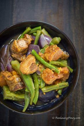 Pakbet Ilocano Recipe Recipe Recipes Pakbet Recipe Pinakbet Recipe