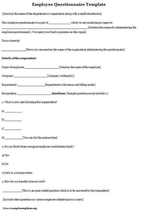 sample Questionnaire (samplequestion) Pinterestissä