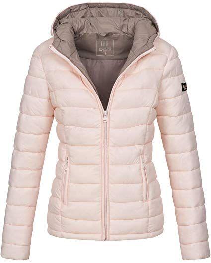 cheap for discount 9a1c4 0edda Marikoo Damen Jacke Steppjacke Herbst Winter Übergangsjacke ...