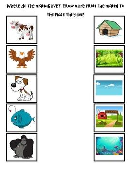 Where Do The Animals Live Preschool Activity Books Free Preschool Activities Community Helpers Preschool Where do i live? explains a lot more about each place and has far more divisions as it goes from a child's room to the entire universe then back again. preschool activity books
