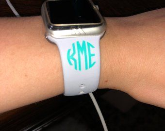 Apple Watch Monogram Vinyl Monogram Monogram Vinyl