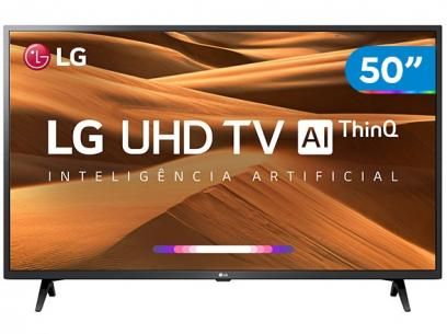 Smart Tv 4k Led 50 Lg 50um7360psa Wi Fi Inteligencia Artificial