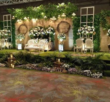 43 Ideas Garden Wedding Ceremony Decor Brides Backyard Wedding Decorations Diy Backyard Wedding Garden Wedding Decorations