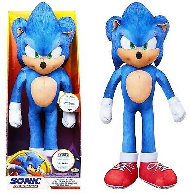 sonic the hedgehog movie 2020 plush