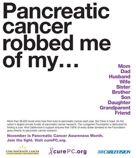 22 besten PANCREATIC CANCER Bilder auf Pinterest   Krebs Fakten ...