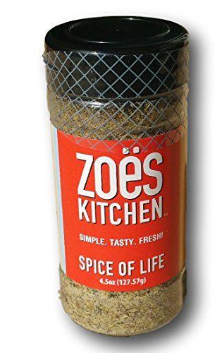 Zoe S Kitchen Spice Of Life Seasoning Zoes Kitchen Kitchen