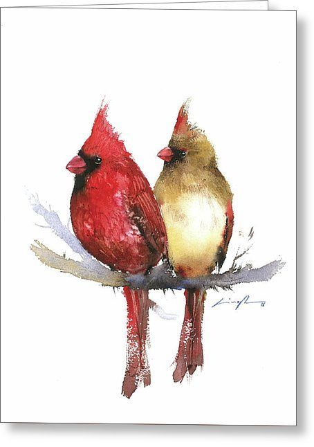 Tattoo Of Male And Female Cardinal Bird Google Search Bird