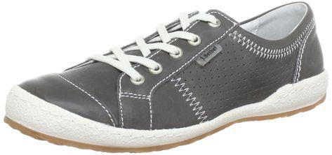Josef Seibel Womens Caspian Grey Leather Shoes 40 EU, #Ad #Womens, #Caspian, #Josef, #Seibel