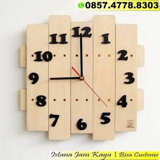 Jam Dinding Kayu Unik Jam Dinding Kayu Custom Jam Dinding Kayu Murah Jam Kayu Unik Unik Murah Clock Wall Decor Wood Wall Clock Rustic Wall Clocks