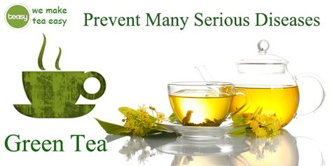 Green tea can prevent many serious diseases, including cancer. http://www.teasyteas.com/green-tea/