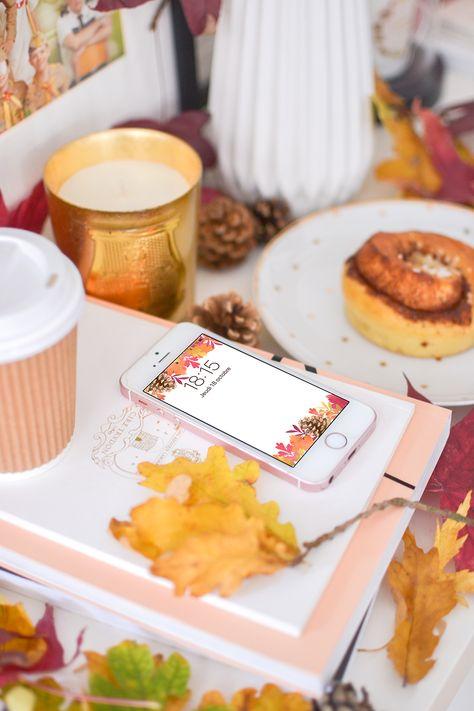 foto de Fond d'écran : feuilles d'automne | Fond ecran, Feuille automne et ...