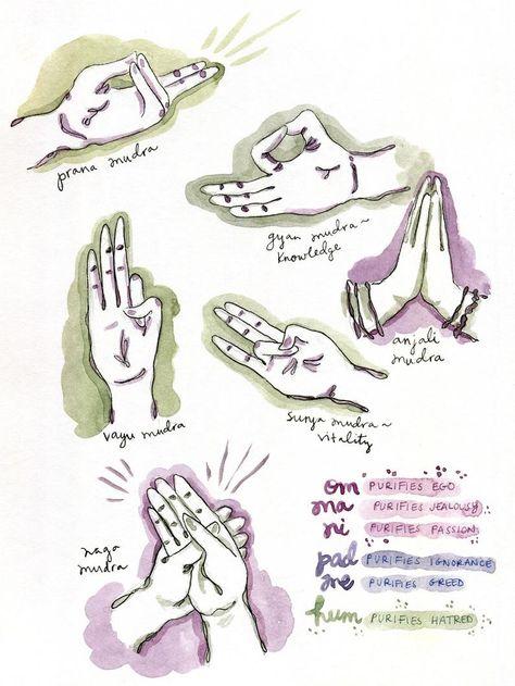 Madison Bright Illustration - Maddie and the Moon Yoga Mantras, Pranayama, Osho, Yoga Symbole, Mudras, Running For Beginners, Yoga At Home, Chakra Meditation, Yoga Tips