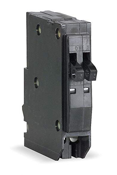 Square D Qot1520 Tandem Plug In Circuit Breaker 1p 15 20 Amp 120 240vac Review Breakers Tandem Circuit