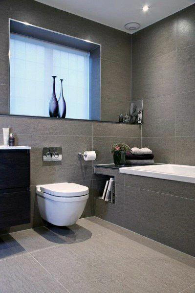 Nice Bathrooms Grey