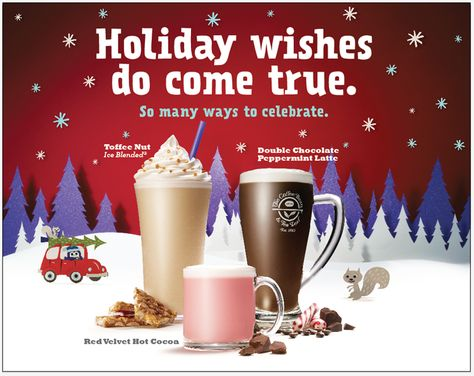 Launch The Coffee Bean Tea Leaf Christmas Holiday Beverages Cakes Treats