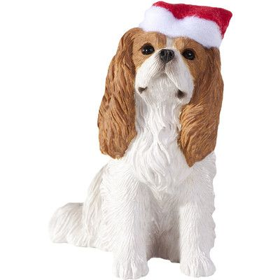 Women 14 Cavalier King Charles Spaniel Christmas Hat Cotton Boyleg Brief