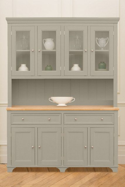 The Belvoir Dresser From Kitchen Company Painted In Saltmarsh Borough Collection Pinterest