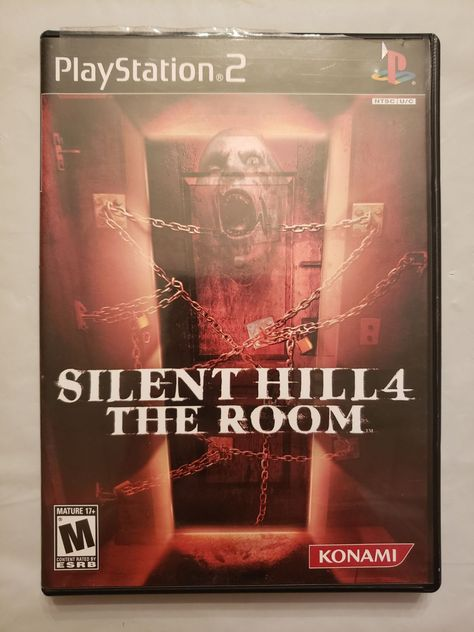 Silent Hill 4 The Room For Ps2 Just The Case And Manual No Game Silent Hill Silent Konami