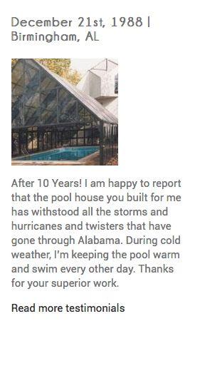 Crown Point In Pool Warmer Indoor Pool Patio Enclosures