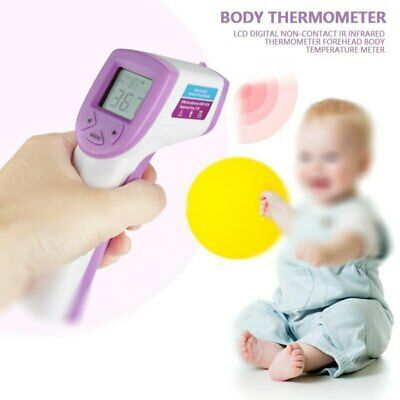 LCD Digital Non-contact IR Infrared Thermometer Forehead Temperature Meter NEW