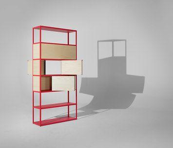 Hier Ein Sideboard Aus Cubes Mit Und Ohne Türen, Und Ein Paar Halbe Tiefen  Oben An Der Wand Aufgehängt. | Pinterest | Aufhängen, Wände Und Türen