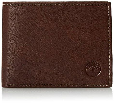 Timberland Men's Blix Slimfold Leather Wallet - One Size / Brown