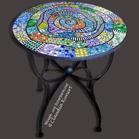 Mosaiktisch Valparaiso Mosaik Mosaiktisch Mosaik Muster