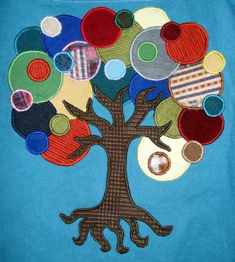 applique tree!