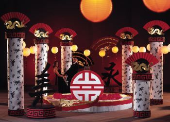 Golden dragon decoration for party golden nocturne dragon flight rising
