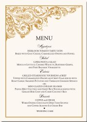 Buddhist Hindu Wedding Menu CardsIndian Card Designs Fusion Weddings