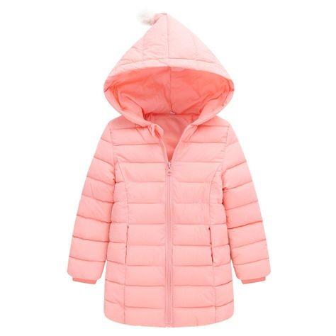 fd2512096 2017 Autumn Winter Baby Girls Coats For Girls Thicken Warm Cotton ...