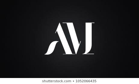 Am Letter Logo Design Template Vector Personal Logo Design Logo