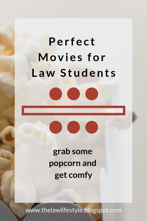 Perfect Movies for Law Students