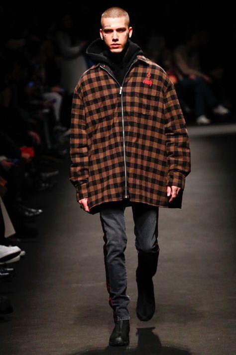 Marcelo Burlon County Of Milan Autumn/Winter 2018 Menswear | British Vogue