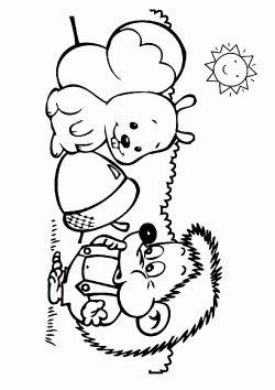 Kirpi Boyama Sayfasi Free Hedgehog Coloring Pages Printable