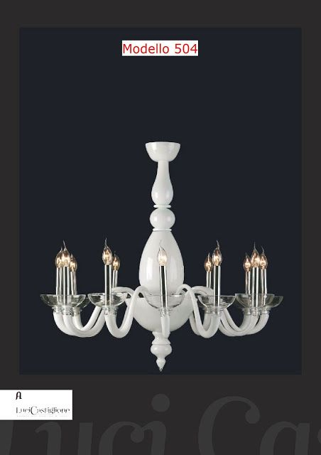 Spare parts for Murano chandeliers classicSpare parts for