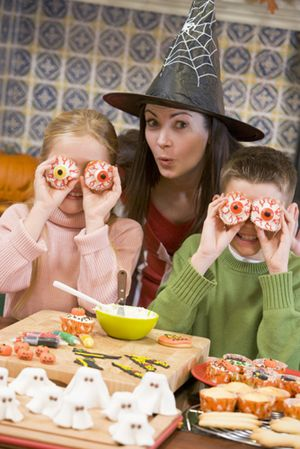 It can be much less expensive and a lot more fun to devise your own chilling Halloween creations then spend a lot on store-bought goodies.