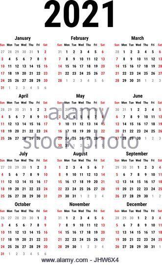 Broadcast Calendar 2021 Pin by Calendar Design on Printable Calendar Design | Printable