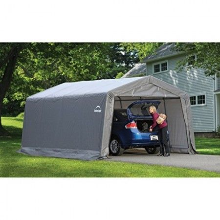 Pick Portable Garage For Your Car Truck Boat Motorcycle Avt Van Rv Camper Or Simple Shed For Backyard Storage Portable Carport Backyard Storage Carport