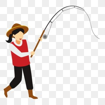 Hat Fishing Fishing Fishing Woman Fishing Clipart Woman Woman Fishing Png And Vector With Transparent Background For Free Download In 2021 Fish Clipart Fishing Women Geometric Background