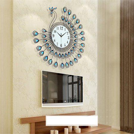 Home In 2020 Clock Wall Watch Living Room Clocks
