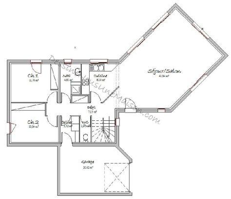 Plan-Rdc-Maison-Contemporaine-Combles-Amenages-4-Chambres-Adonis