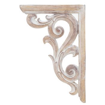 37 Creative Ideas For Decorating With Rustic Corbels Wood Corbels Decor Corbels