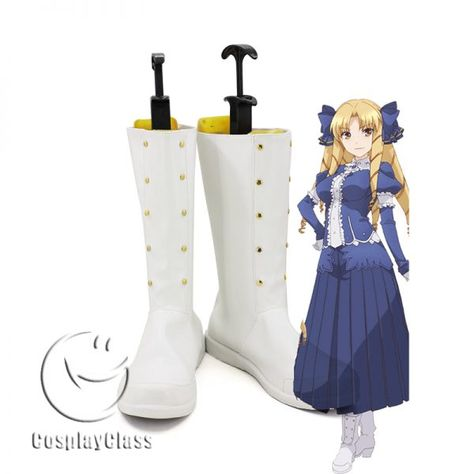 3c42f881d1b Fire Emblem Sheeda Cosplay Shoes – CosplayClass  FireEmblem  SheedaCosplay   cosplayclass