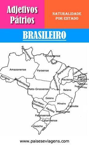 Adjetivos Patrios Por Estado Brasileiro Quem Nasce Em Minas